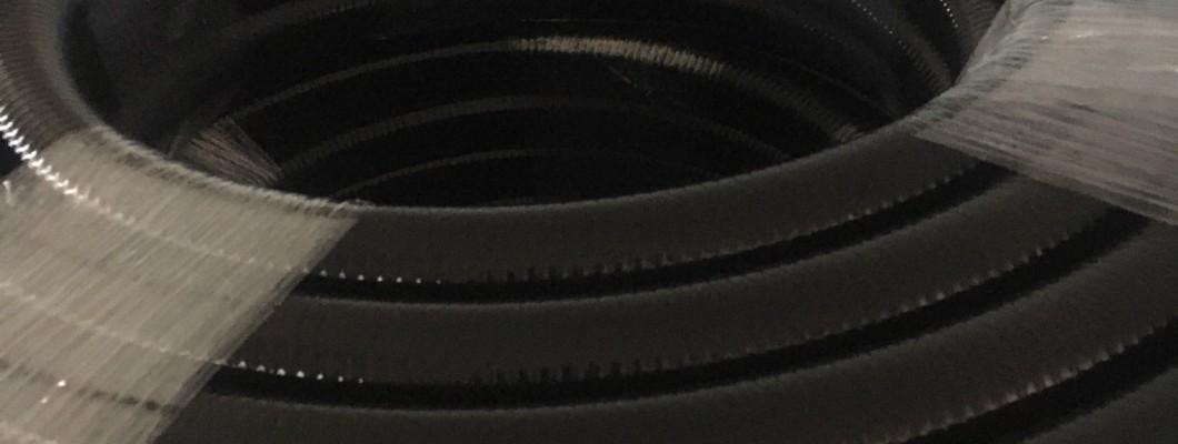 All black hose ARION SSE Black 40 for sprayers